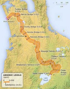 Waikato river map